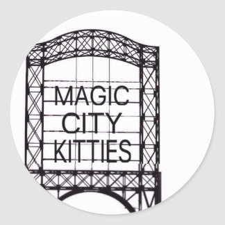 Magic City Kitties Sticker