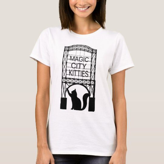 Magic City Kitties Women's Basic T-shirt