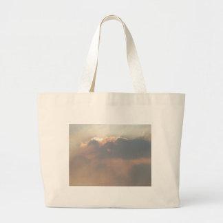 magic clouds jumbo tote bag