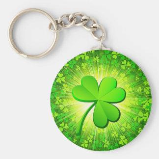 Magic clover key ring