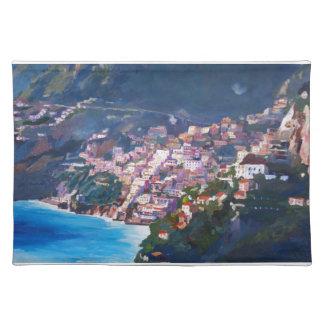Magic Coastline and Scenery in Amalfi, Italia Placemat