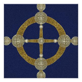 Magic Compass Abstract Art Announcements