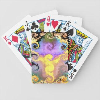 Magic Dragon Abstract King's Playing Cards