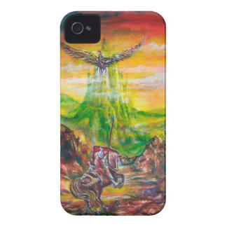MAGIC DUEL BETWEEN BRADAMANT AND NEGROMANCER iPhone 4 COVER