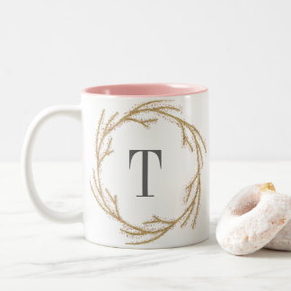 Magic Dust Wreath | Monogram Mug