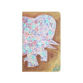 Magic elephant notebook journal,