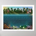 "Magic Eye® 3D ""Coral Reef"" Poster 20"" x 16"""