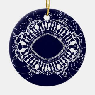Magic Eye Christmas Ornament