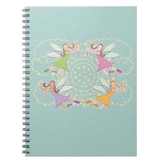 Magic Fairies Spiral Bound Notebook