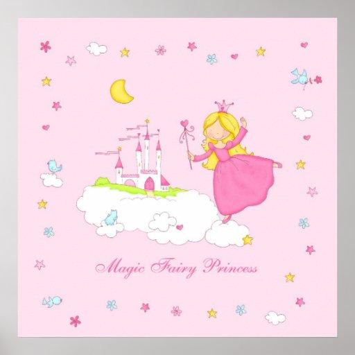 Magic Fairy Princess Poster