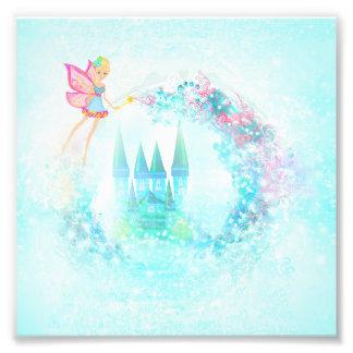 Magic Fairy Tale Princess Castle Art Photo