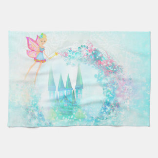 Magic Fairy Tale Princess Castle Towel