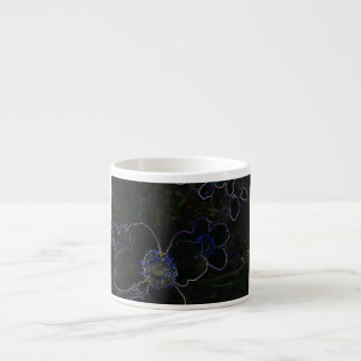 Magic Flower Espresso Mugs