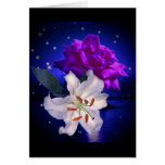 Magic Flowers Card