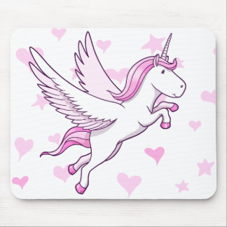 Magic Flying Pegasus Unicorn  Mouse Pad