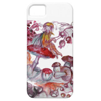MAGIC FOLLET OF MUSHROOMS BARELY THERE iPhone 5 CASE