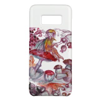 MAGIC FOLLET OF MUSHROOMS Red White Floral Fantasy Case-Mate Samsung Galaxy S8 Case