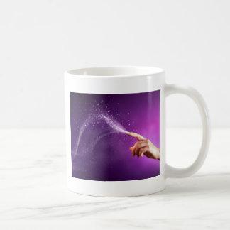 Magic fun violet hand wicca new age lavender chic mug