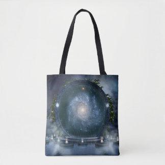 Magic Galaxy Portal All-Over-Print Tote Bag