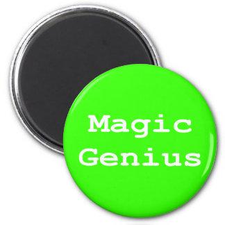 Magic Genius Gifts 6 Cm Round Magnet