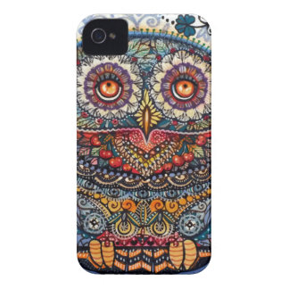 Magic graphic owl painting Case-Mate iPhone 4 cases