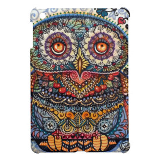 Magic graphic owl painting iPad mini case