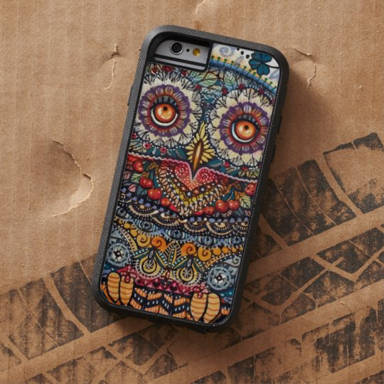 Magic graphic owl painting tough xtreme iPhone 6