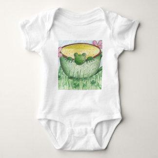 Magic Green Cup Frog Baby Bodysuit
