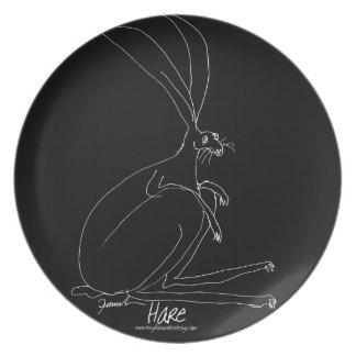 magic hare plate