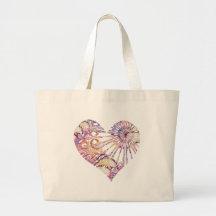 Magic Heart Jumbo Tote Bag