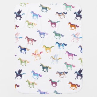 Magic Horses baby blanket