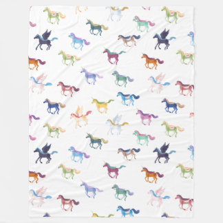Magic Horses blanket