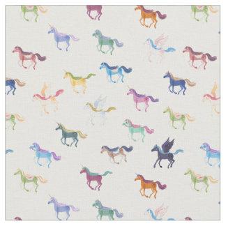 Magic Horses fabric