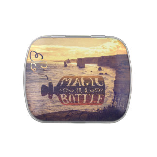Magic in a Bottle Twelve Apostles Great Ocean Road Jelly Belly Candy Tins
