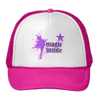 Magic inside cap