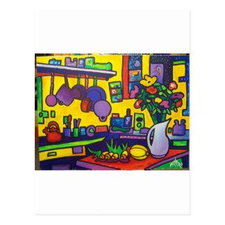 Magic Kitchen Postcard