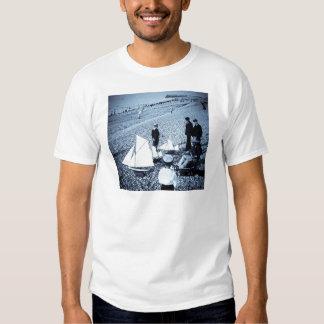 Magic Lantern Slide Boys at the Seaside, France Shirts