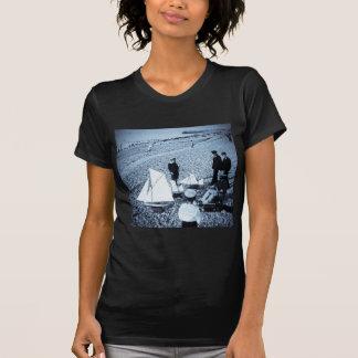 Magic Lantern Slide Boys at the Seaside, France T-Shirt