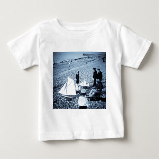 Magic Lantern Slide Boys at the Seaside, France Tshirt