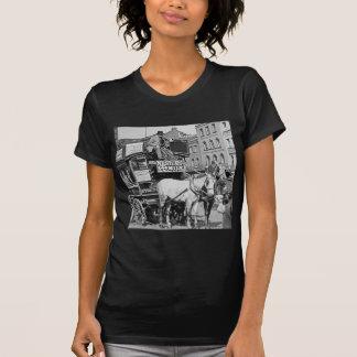 Magic Lantern Slide Kings Cross London Street Tram T-Shirt
