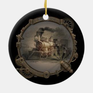 Magic Lantern - Steampunk Style Frame. Christmas Ornament