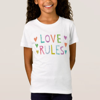 Magic Love Rules with Hearts T-Shirt