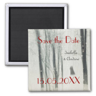Magic Love Wedding Save the Date Magnet
