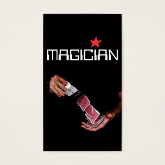 199 magician business cards and magician business card