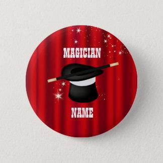 Magic Magician Party Name Button
