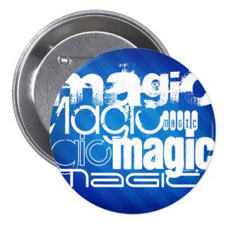 Magic, Magician; Royal Blue Stripes Pins