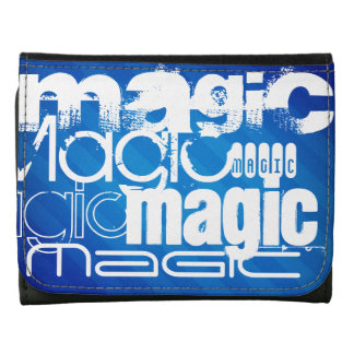 Magic, Magician; Royal Blue Stripes Wallets