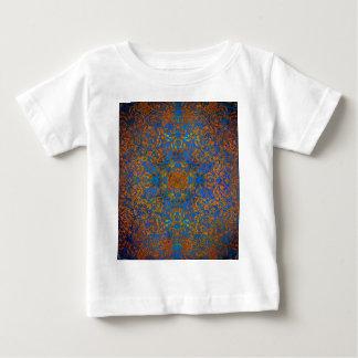 magic mandala blue baby T-Shirt