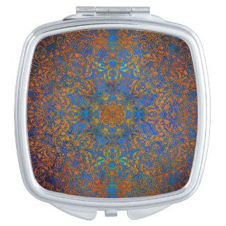 magic mandala blue mirror for makeup
