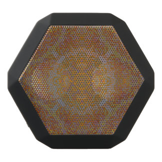 magic mandala orange black bluetooth speaker